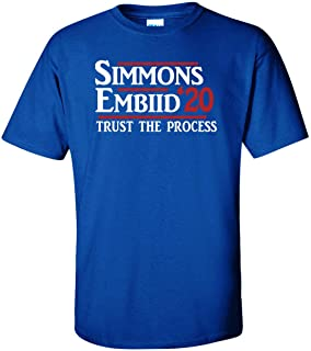 PROSPECT SHIRTS Blue Philadelphia Simmons 2020