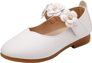 fda604e03f53b WUIWUIYU Filles Ballerines Chaussures de Princesse étudiants Marche Simple  Léger Confortable