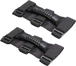 Baoblaze 2x Barra De Rolagem Grab Handles Grib Hand Holder Para Jeep Wrangler JK TJ YJ