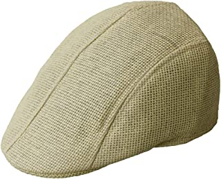 ACVIP Summer Beret Mesh Hat Newsboy Cabbie Driving Cap for Men