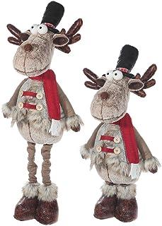 IH CASADECOR Prancer The Reindeer Plush Expandible, Multi