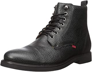 Men's Leather Luxury Laceup Lug Boot Ankle