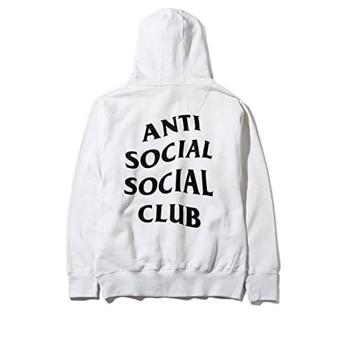09560eadf46f Anti social social club hoodie in white