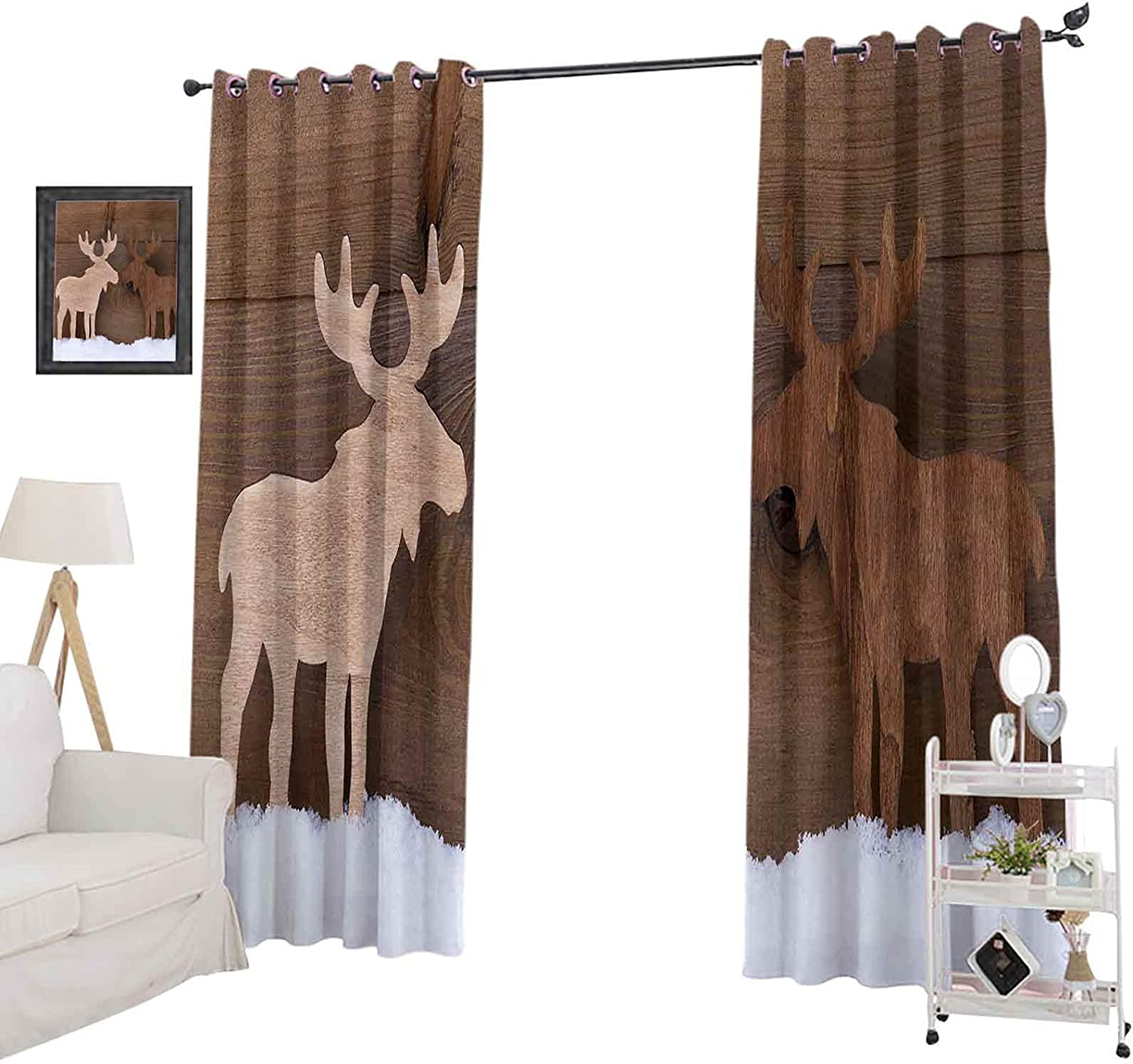 Blackout Curtain 72 Inches Long Sale price 40% OFF Cheap Sale for Be Kids Window Panel