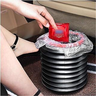 VISZC Seau Pliable, seaux pliants multifonctionnels Contenant d'eau en Plastique pour Organisateur de Poubelle de Voiture,...