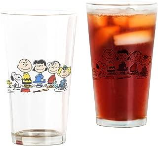 CafePress Peanuts Gang Pint Glass, 16 oz. Drinking Glass