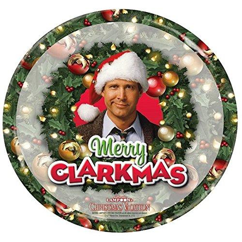 Clark Griswold Christmas Vacation Foto Teller 17 cm Durchmesser Schöne Bescherung