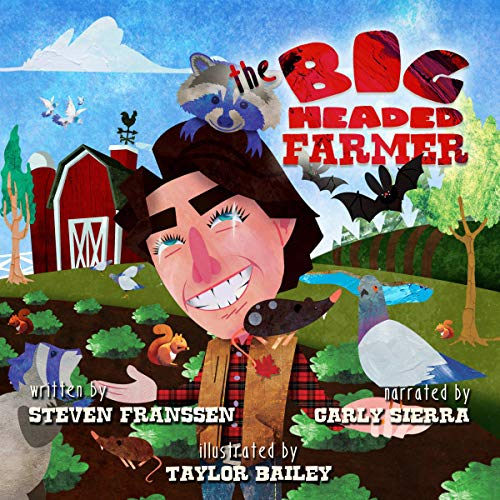 The Big Headed Farmer audiobook cover art