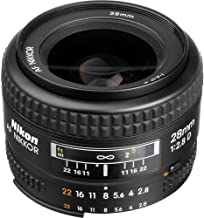 Nikon AF NIKKOR 28mm f/2.8D Lens and Pro Cleaning Accessories