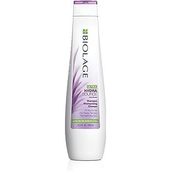 Shampoo Biolage Ultra Hydrasource con aloe, aceite de albaricoque y mantequilla de capuacu para hidratación de cabello seco 400ml