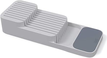 Joseph 85120 Drawer Store Knife Storage Tray, Grey