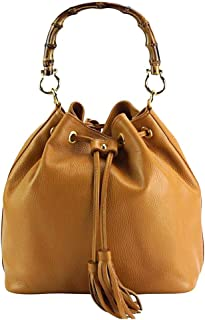 FLORENCE LEATHER MARKET Borsa a mano da donna in pelle 28x25x17 cm - Tamara - Made in Italy