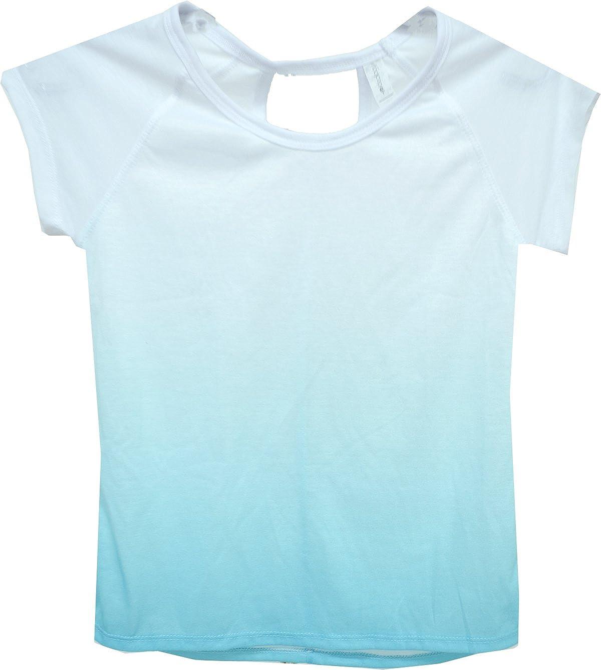 Ideology Girls Dip-Dye T-Shirt Crystal Mist Large 14