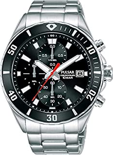 PULSAR Men's Analogue Quartz Watch with Stainless Steel Strap PM3189X1