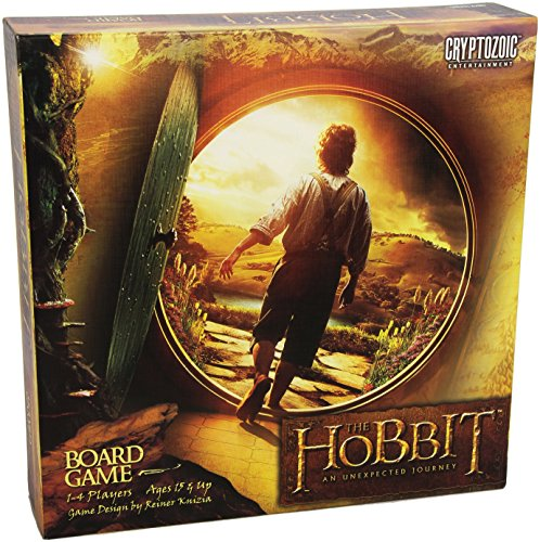 Cryptozoic CZE01530 - Brettspiele, The Hobbit, An Unexpected Journey Board Game