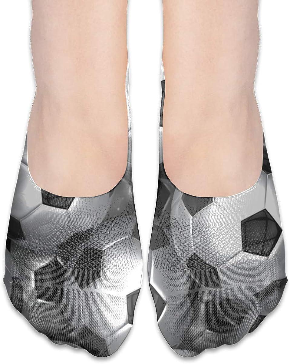No Show Socks Women Men For 3d Soccer European Football Flats Cotton Ultra Low Cut Liner Socks Non Slip