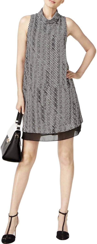 Alfani Womens Printed ALine Dress
