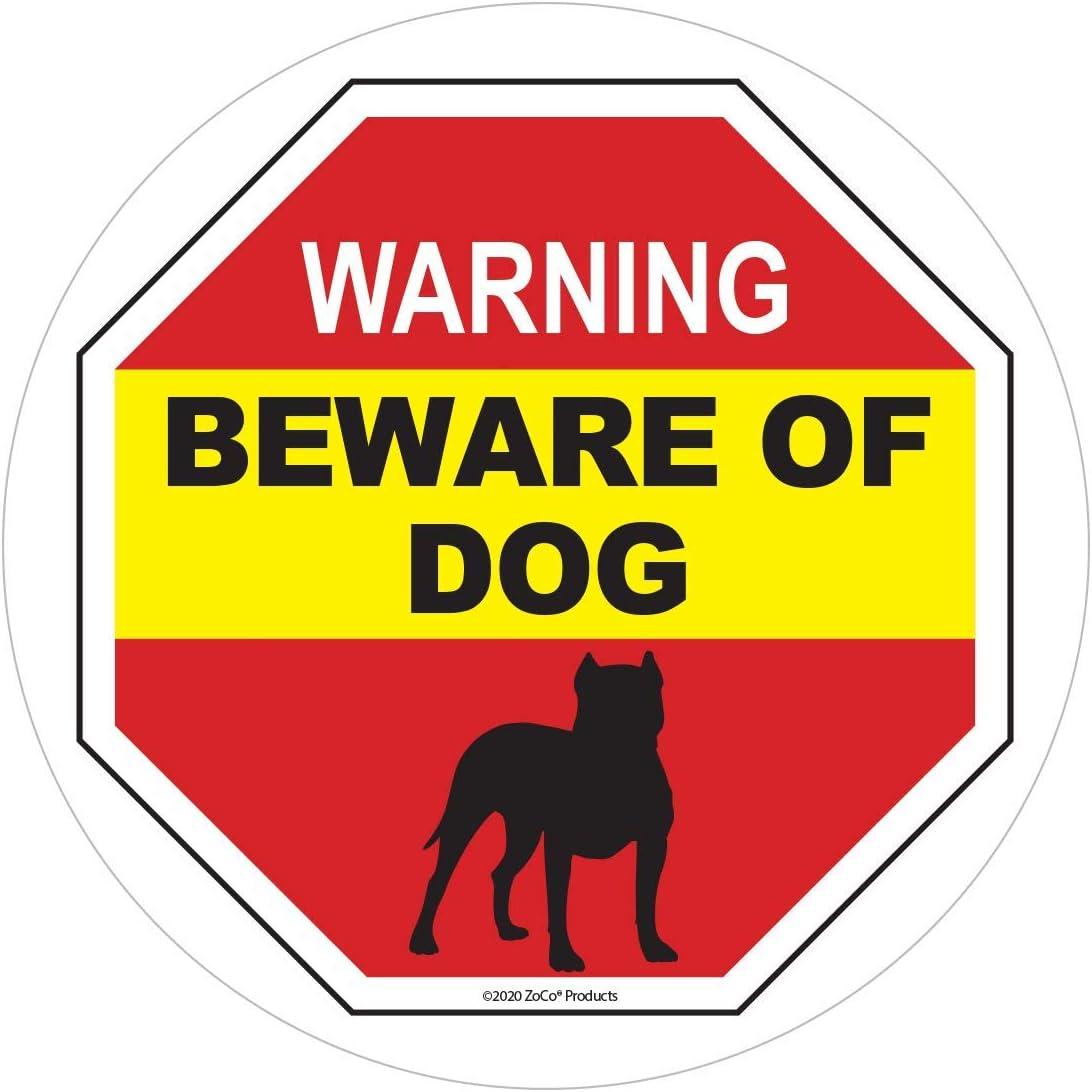 Beware of Dog Warning Window - Inside Max 88% OFF Selling Pitbull Sticker