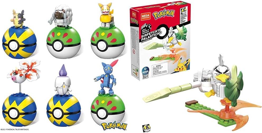 Max 75% OFF Super sale Mega Construx Pokemon Poke Bundle Ball Sirfet