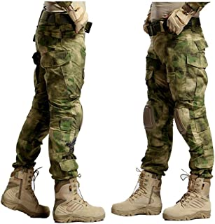 Camouflage Militar Tactical Pants Army Military Uniform Trouser ACU Airsoft Paintball Combat Cargo Pants