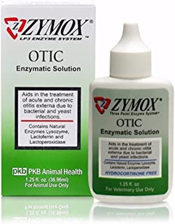 Zymox Otic HC Free Enzymatic Solutions with/out Cortisone 1.25 oz