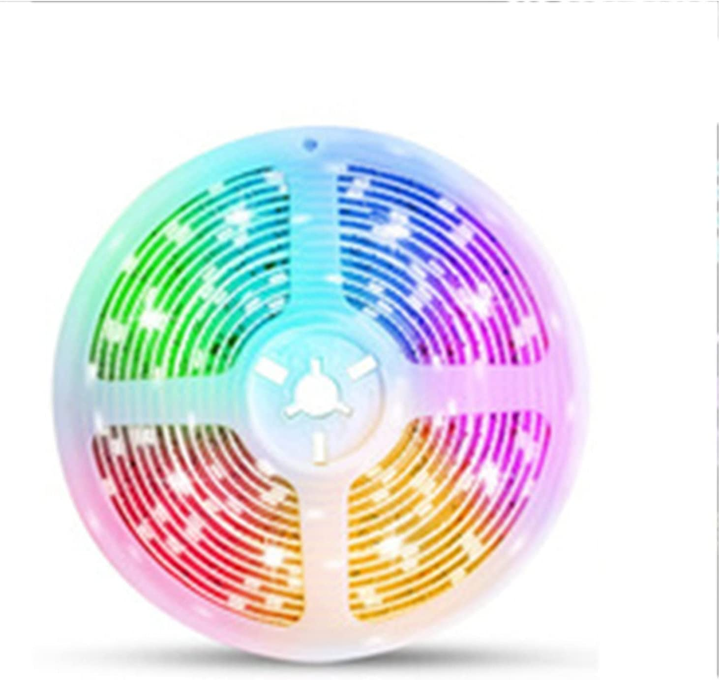 LEḌ Strip Lights Music Sync Room Color Long-awaited Washington Mall Par Changing for