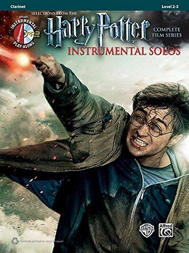 Harry Potter Instrumental Solos: Clarinet (Book & CD) (Alfred's Harry Potter Instrumental Solos)