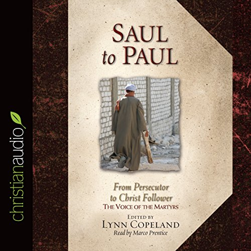 Saul to Paul audiobook cover art