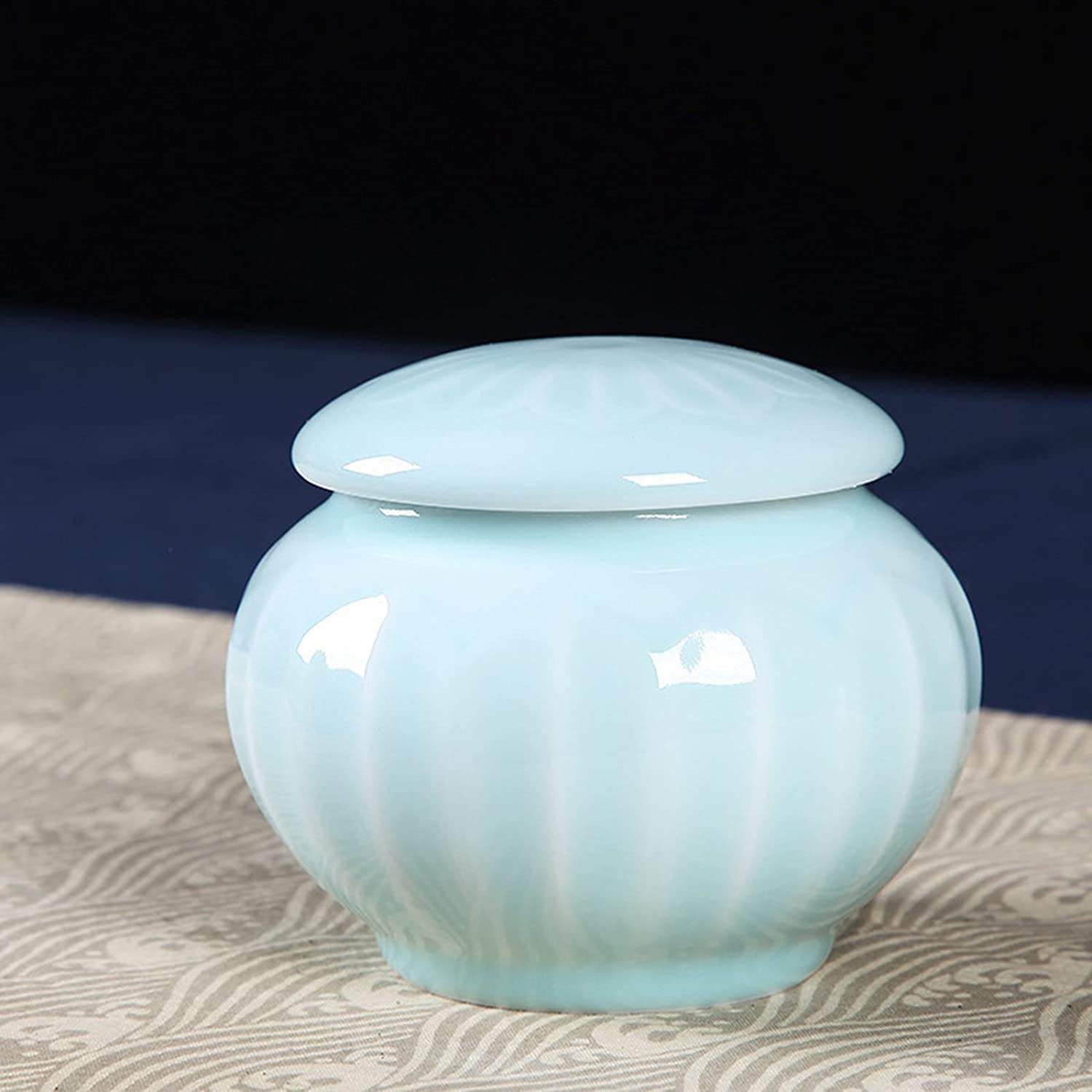 LEERIAN Mini Souvenirs Decorated Urns Cremation C Shipping included Small Max 43% OFF Ceramic