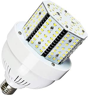Lawind 40W Corn Light Bulb,Street and Area Light 5000K E26 Base Daylight Shorty Cob Bulbs for Indoor Outdoor Garage Factory Warehouse Barn Backyard High Bay Stadium Track,AC100-277V Input