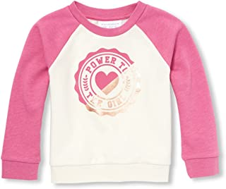 The Children's Place 女婴图案插肩运动衫