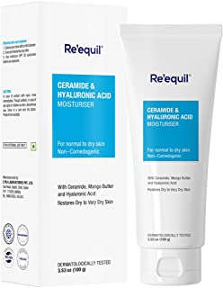 RE' EQUIL Ceramide & Hyaluronic Acid Moisturiser For Normal to Dry Skin -100 g