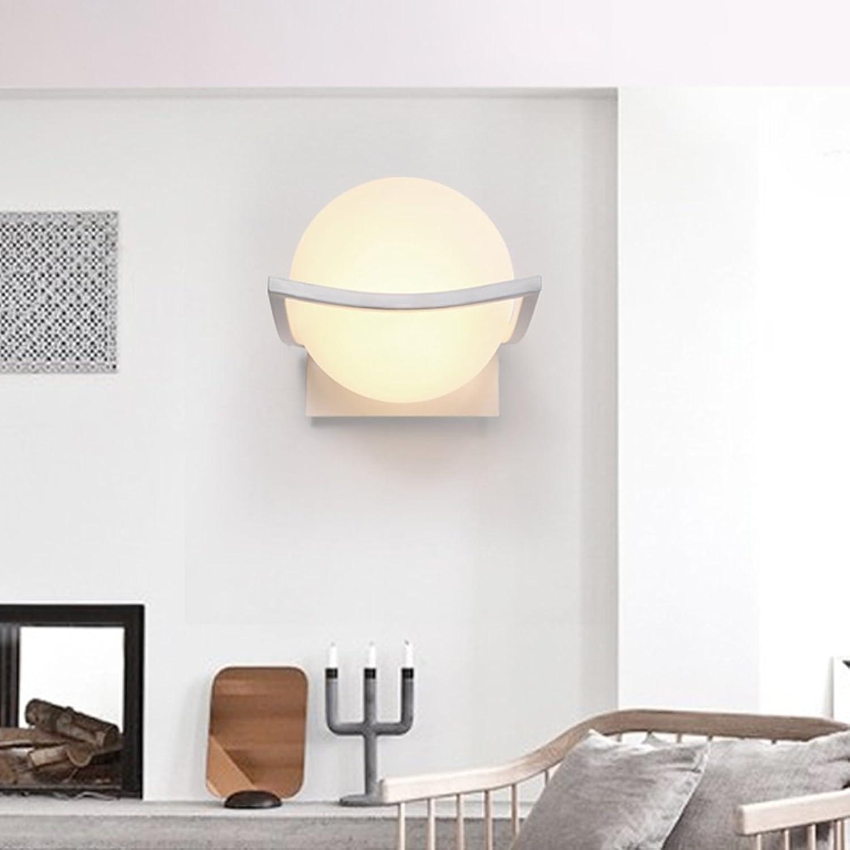 Unbekannt Amerikanischen minimalistische Wandleuchte Nachttischlampe Schlafzimmerlampe Wohnzimmerlampe Gang Treppe Korridor Wandleuchte warmen Wandleuchten Lampen (Energieeffizienzklasse A +)