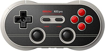 YIKESHU 8Bitdo N30 Pro 2 Wireless Game Controller with Joysticks Rumble Vibration USB-C Cable Gamepad for Windows, Mac OS, Android, Steam and More