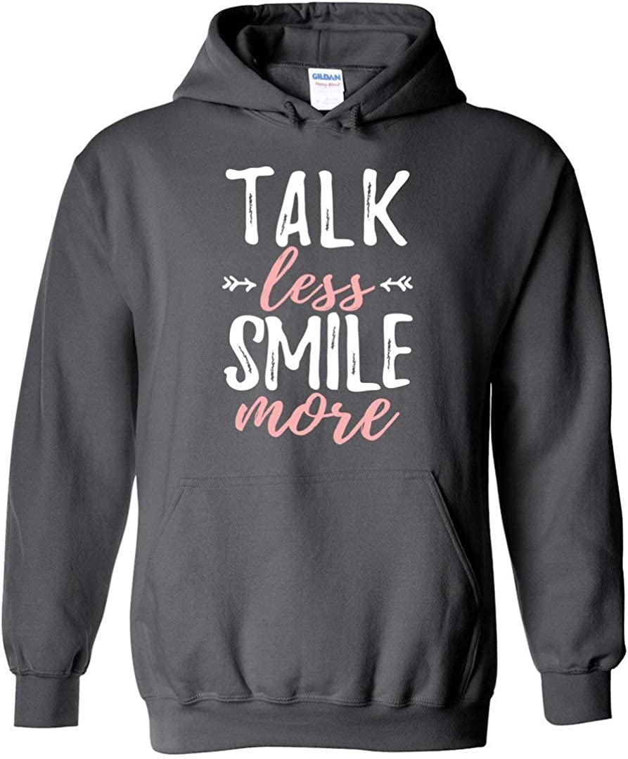 Hamilton Sweatshirt Talk New sales Alternative dealer Less Smile M Funny Hoodie More
