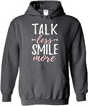 Hamilton Sweatshirt Talk Less Smile More Funny Hamilton Hoodie