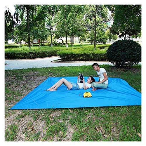 HHOSBFSS Toldo, 300 * 290 Cm Tablero De Vela Protección UV Impermeable Terraza Tarjeta Al Aire Libre, Mat Camping Camping Senderismo Accesorios (Color : Blue)