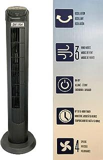 Ventilador Sierra de Torre Oscilante de 101.60 cm, 40