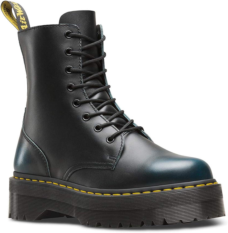 Dr. Martens Womens Jadon 8-Eyelet Leather Boots