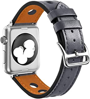 TANNCHI AU Applicable apple watch watches cowhide retro leather strap