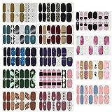 14 Blatt Nagelsticker,Nagelaufkleber,Nagelkunst Sticker Selbstklebende Maniküre Sticker Schöne Mode DIY Dekoration