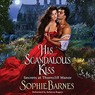 His Scandalous Kiss audiobook cover art