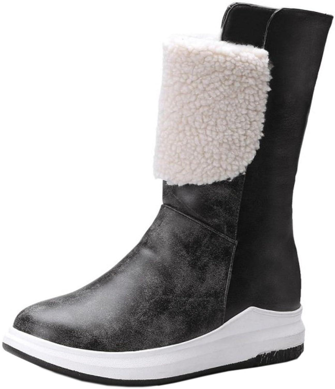 RizaBina Women Winter Boots Pull On