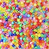 Multicolore 1 Tacobear 15 Fili Perline Fai da Te per Bambini Adulti Piatta a Mano Argilla Polimerica Perlina Distanziale per Bracciale Collana Gioielli di Creazione