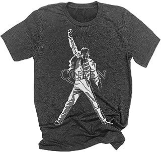 QUEEN Freddie Mercury Legendary Pose Rock Band Mens T-shirt Size S-4XL queen band shirt