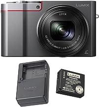 Panasonic LUMIX ZS100 Camera (Silver) and Panasonic Battery and Charger
