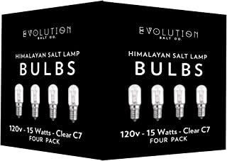 Evolution Salt Clear 15 Watt Bulb (4 Pack), 4 Pk,