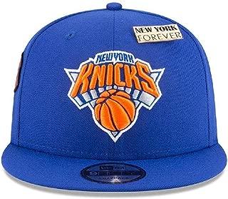 New Era New York Knicks 2018 NBA Draft Cap 9FIFTY Snapback Adjustable Hat- Blue