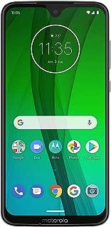 "Motorola Moto G7 (64GB, 4GB RAM) 6.2"" HD+ Display, Dual SIM GSM Unlocked (AT&T/T-Mobile/MetroPCS/Cricket/H2O) - XT1962-6 - International Version (White, 64 GB)"