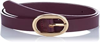 PIECES Pcana Leather Jeans Belt Noos Cinturón para Mujer